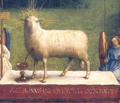 Ghent_Altarpiece_D_-_Adoration_of_the_Lamb_1